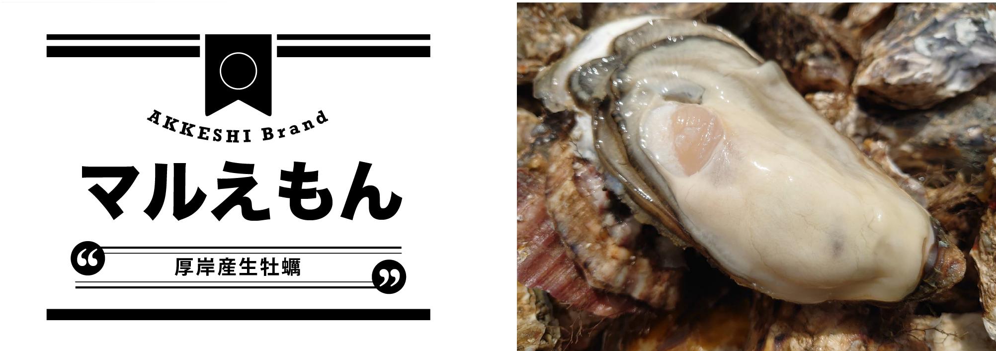 厚岸産生牡蠣マルえもん