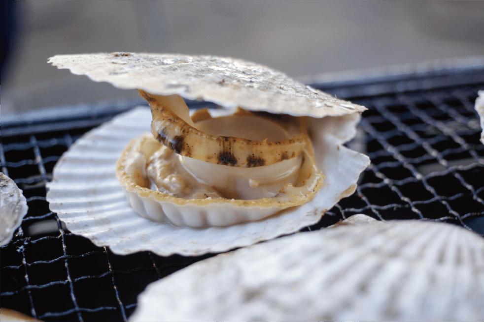 貴重な天然物 お刺身でも、貝焼きでも